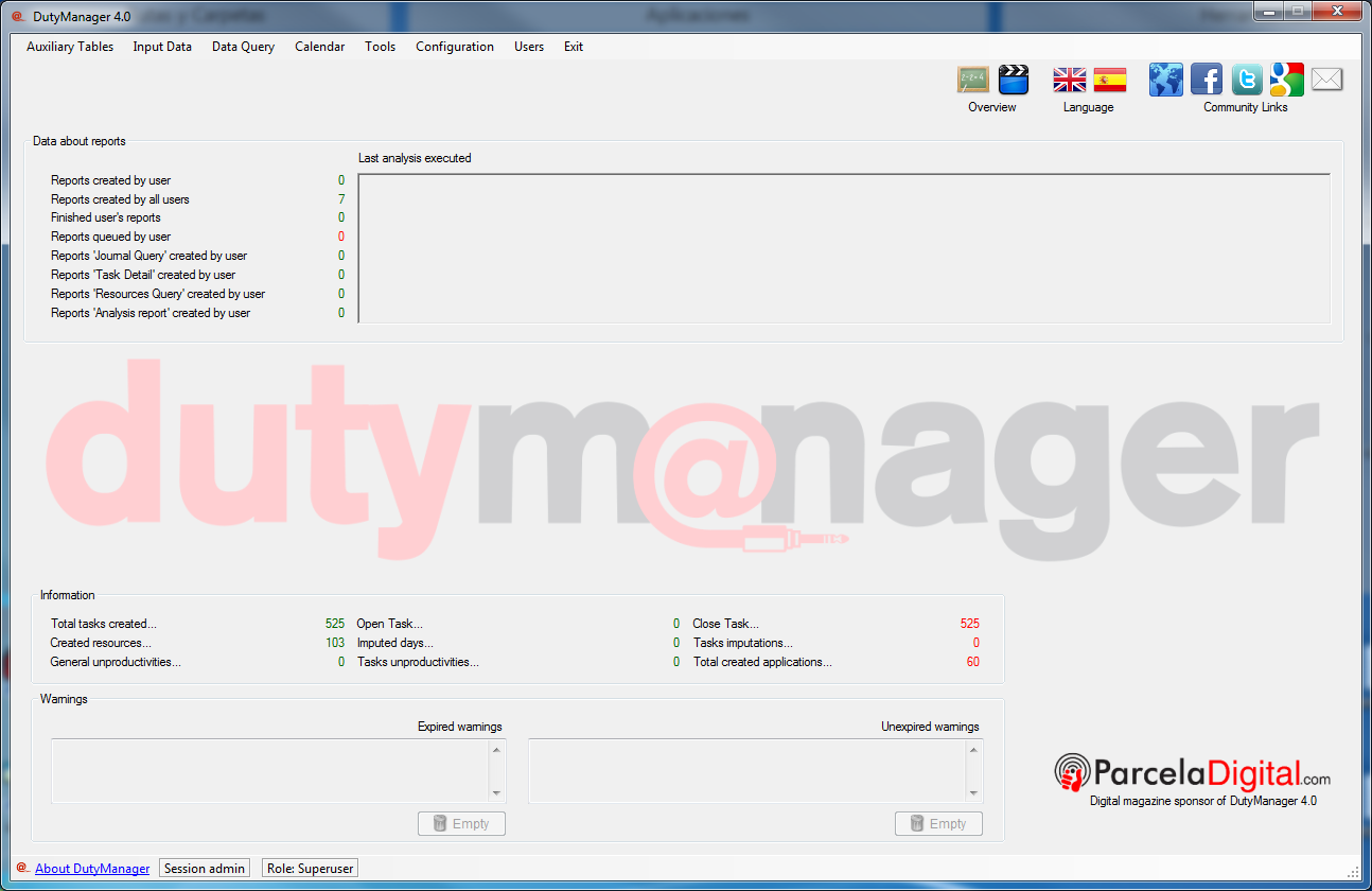 Click to view DutyManager 4.0 screenshot